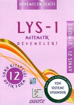 Karekök Yayınları LYS 1 Matematik Çözümlü 12 Deneme