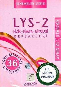 Karekök Yayınları LYS 2 Fizik Kimya Biyoloji Çözümlü 12 Deneme