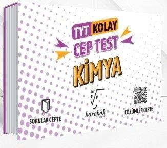 Karekök Yayınları TYT Kimya Kolay Cep Test