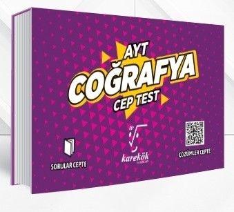 Karekök Yayınları AYT Coğrafya Cep Test
