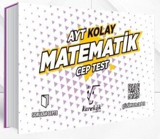 Karekök Yayınları AYT Matematik Kolay Cep Test
