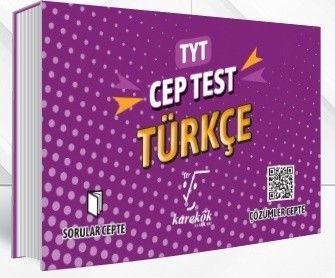 Karekök Yayınları TYT Türkçe Cep Test