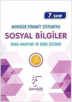 Karekök Yayınları 7. Sınıf Sosyal Bilgiler MPS Konu Anlatımı ve Soru Çözümü