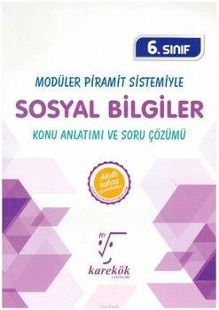 Karekök Yayınları 6. Sınıf Sosyal Bilgiler MPS Konu Anlatımı ve Soru Çözümü