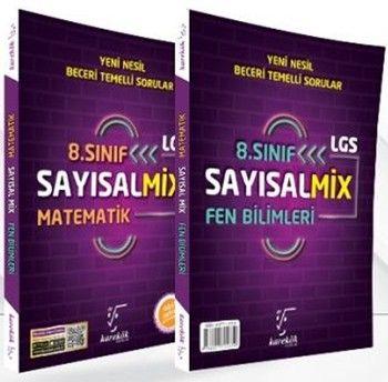 Karekök Yayınları 8.Sınıf LGS SayısalMix Matematik ve Fen Bilimleri