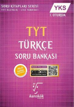 Karekök Yayınları YKS 1. Oturum TYT Türkçe Soru Bankası