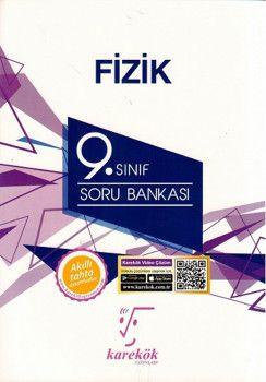 Karekök Yayınları 9. Sınıf Fizik Soru Bankası