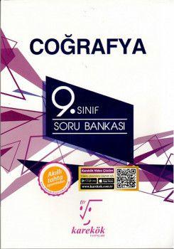 Karekök Yayınları 9. Sınıf Coğrafya Soru Bankası