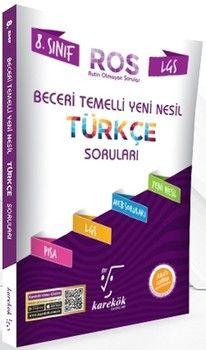 Karekök Yayınları 8. Sınıf LGS Türkçe ROS Beceri Temelli Yeni Nesil Soru Bankası