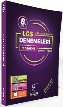 Karekök Yayınları 8. Sınıf LGS 12 Deneme