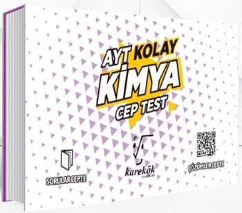 Karekök Yayınları AYT Kimya Kolay Cep Test