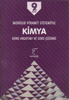 Karekök Yayınları 9. Sınıf Kimya Modüler Piramit Sistemiyle Konu Anlatımı ve Soru Çözümü