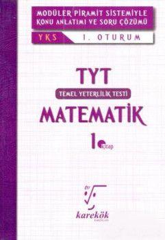 Karekök Yayınları YKS 1. Oturum TYT Matematik 1. Kitap Konu Anlatımlı Soru Bankası