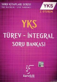 Karekök Yayınları YKS 2. Oturum Türev İntegral Soru Bankası