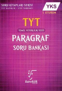 Karekök Yayınları YKS 1. Oturum TYT Paragraf Soru Bankası