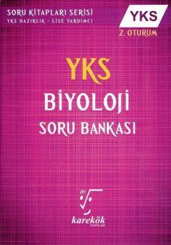 Karekök Yayınları YKS 2. Oturum Biyoloji Soru Bankası