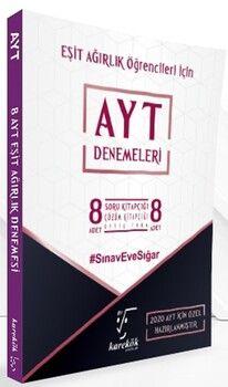 Karekök Yayınları AYT Eşit Ağırlık Özel 8 li Paket Deneme
