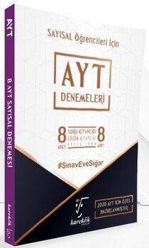 Karekök Yayınları AYT Sayısal Özel 8 li Paket Deneme