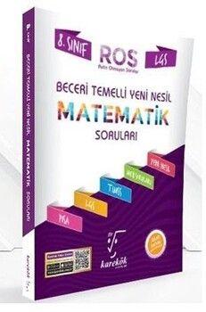 Karekök Yayınları 8. Sınıf LGS Matematik ROS Beceri Temelli Yeni Nesil Soru Bankası