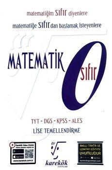 Karekök Yayınları Matematik Sıfır Güncel Müfredat