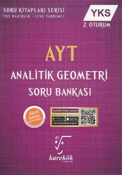 Karekök Yayınları AYT Analitik Geometri Soru Bankası