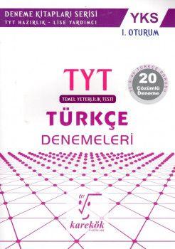 Karekök Yayınları YKS 1. Oturum TYT Türkçe 20 Çözümlü Deneme