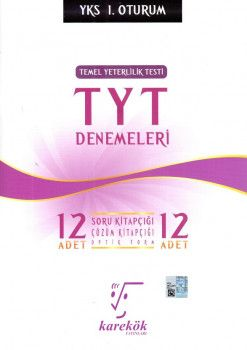 Karekök Yayınları YKS 1. Oturum TYT 12 Deneme