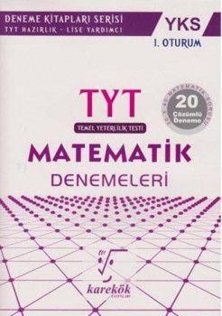 Karekök Yayınları YKS 1. Oturum TYT Matematik 20 Deneme