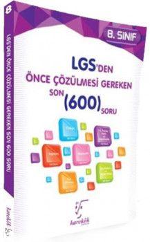 Karekök Yayınları 8. Sınıf LGS den Önce Çözülmesi Gereken Son 600 Soru