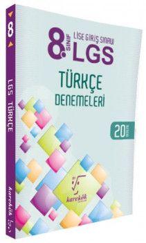 Karekök Yayınları 8. Sınıf LGS Türkçe 20 Deneme