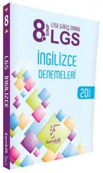 Karekök Yayınları 8. Sınıf LGS İngilizce 20 Deneme