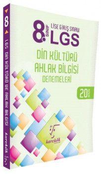 Karekök Yayınları 8. Sınıf LGS Din Kültürü ve Ahlak Bilgisi 20 Deneme