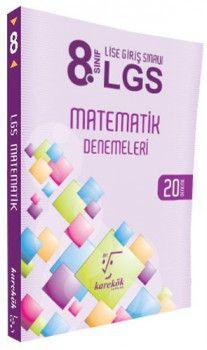 Karekök Yayınları 8. Sınıf LGS Matematik 20 Deneme