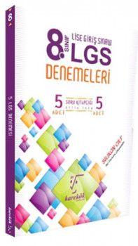 Karekök Yayınları 8. Sınıf LGS 5 li Deneme