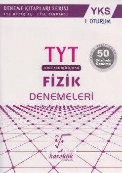 Karekök Yayınları YKS 1. Oturum TYT Fizik 50 Çözümlü Deneme