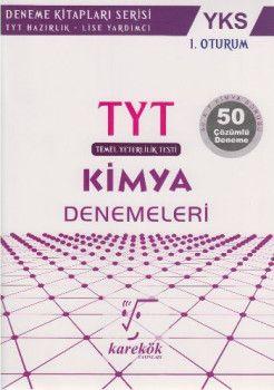 Karekök Yayınları YKS 1. Oturum TYT Kimya 50 Çözümlü Deneme