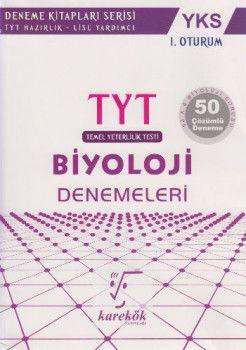 Karekök Yayınları YKS 1. Oturum TYT Biyoloji 50 Çözümlü Deneme