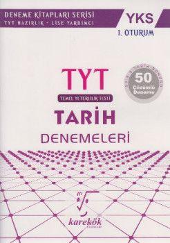 Karekök Yayınları YKS 1. Oturum TYT Tarih 50 Çözümlü Deneme