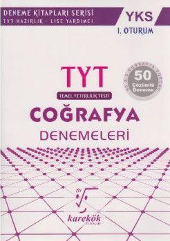 Karekök Yayınları YKS 1. Oturum TYT Coğrafya 50 Çözümlü Deneme