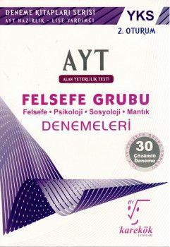 Karekök Yayınları YKS 2. Oturum AYT Felsefe Grubu Çözümlü 30 Deneme