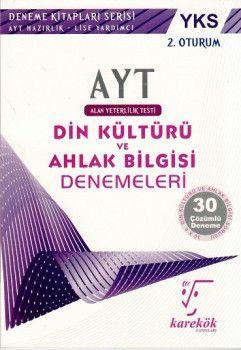 Karekök Yayınları YKS 2. Oturum AYT Din Kültürü ve Ahlak Bilgisi Çözümlü 30 Deneme