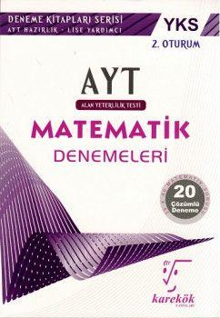 Karekök Yayınları YKS 2. Oturum AYT Matematik Çözümlü 20 Deneme