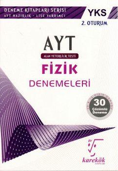 Karekök Yayınları YKS 2. Oturum AYT Fizik Çözümlü 30 Deneme