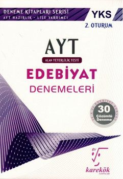 Karekök Yayınları YKS 2. Oturum AYT Edebiyat Çözümlü 30 Deneme