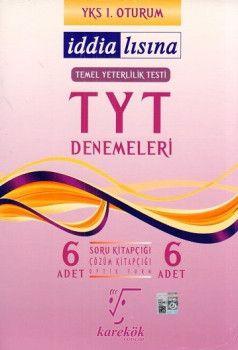 Karekök Yayınları YKS 1. Oturum TYT İddialısına 6 Deneme