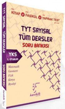 Karekök Yayınları YKS 1. Oturum TYT Sayısal Tüm Dersler Soru Bankası