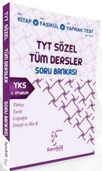 Karekök Yayınları YKS 1. Oturum TYT Sözel Tüm Dersler Soru Bankası