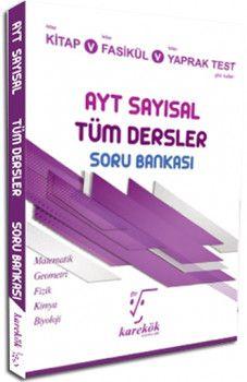 Karekök Yayınları YKS 2. Oturum AYT Sayısal Tüm Dersler Soru Bankası