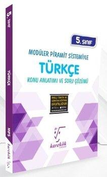 Karekök Yayınları 5. Sınıf Türkçe Konu Anlatımı ve Soru Çözümü