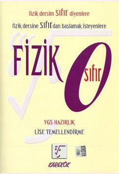 Karekök Yayınları Sıfır Fizik